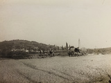 WWI: View of the City of Medea from the Riverbed Indrio Photographic Print