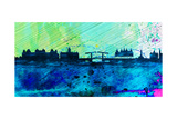 Amsterdam City Skyline Prints by  NaxArt