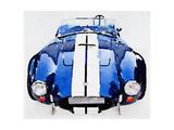 NaxArt - 1962 AC Cobra Shelby Watercolor - Reprodüksiyon