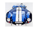 1962 AC Cobra Shelby Watercolor Premium Giclee Print by  NaxArt