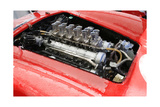 Ferrari 250 GTO Engine Watercolor Prints