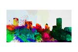 Baltimore City Skyline Prints by  NaxArt