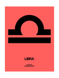Libra Zodiac Sign Black Posters