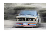 1974 BMW 2002 Turbo Watercolor Print by  NaxArt