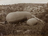 First World War: Airship, Photography of the Austro-Hungarian Empire Photographic Print