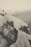 World War I: Military Walkway on Black Mountain Photographic Print