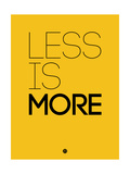 Less Is More Yellow Prints by  NaxArt