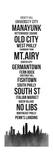 Streets of Philadelphia 3 Posters by Lina Lu