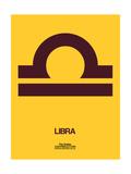Libra Zodiac Sign Brown Prints