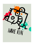 Have Fun 1 Prints by Lina Lu