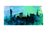 New York City Skyline Prints by  NaxArt