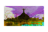 Rio City Skyline Prints by  NaxArt