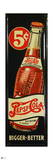Pepsi - Bigger and Better, Vintage 1940s Ad Wall Decal