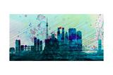 Tokyo City Skyline Prints by  NaxArt