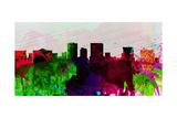 El Paseo City Skyline Prints by  NaxArt
