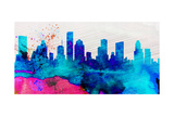 Houston City Skyline Posters by  NaxArt