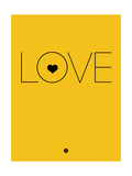 Love Yellow Plakater af NaxArt