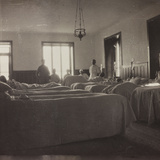 Pictures of War II: Italian Soldiers Convalescing in the Department of Surgery Photographic Print
