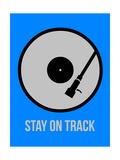 Stay on Track Vinyl 2 Art by  NaxArt
