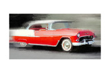 1955 Chevrolet Bel Air Coupe Watercolor Posters