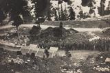World War I: Celebration of Mass in Falsarego (Falzarego) Photographic Print