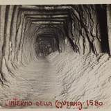 Free State of Verhovac-July 1916: Entrance to the Cave (Cave in 1580) Photographic Print