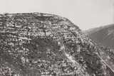 World War I: Military Post on the Mountains of Veneto Photographic Print