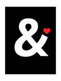 Ampersand 4 Posters by  NaxArt