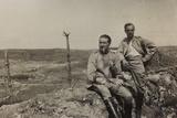 War Campaign 1917-1920: Soldiers Bargigli and Gandolfo Cosich Photographic Print