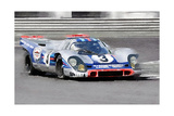 Porsche 917 Martini Rossi Watercolor Prints by  NaxArt