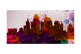 Kansas City Skyline Prints by  NaxArt