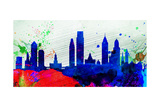 Philadelphia City Skyline Prints by  NaxArt