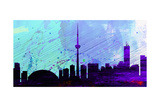 Toronto City Skyline Posters by  NaxArt