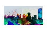 Buffalo City Skyline Art by  NaxArt