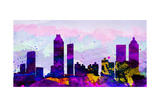 Atlanta City Skyline Posters by  NaxArt