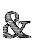 NaxArt - Ampersand 1 Obrazy