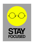 Stay Focused Circle 2 Print by  NaxArt