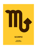 Scorpio Zodiac Sign Brown Posters by  NaxArt
