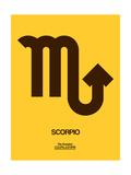 Scorpio Zodiac Sign Brown Posters