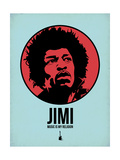 Jimi 2 Prints by Aron Stein