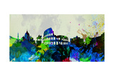 Rome City Skyline Art by  NaxArt