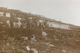 World War I: Tanks of Water in a Military Garrison in the High Mountains Photographic Print