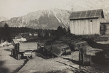 World War I: Storehouse of the Genius in Pocol Photographic Print