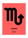 Scorpio Zodiac Sign Black Prints