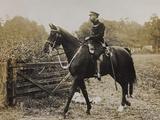 World War I: The British King George V (1865-1936) on Horseback Photographic Print