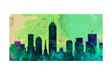 Indianapolis City Skyline Posters