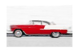 1955 Chevy Bel Air Watercolor Prints by  NaxArt