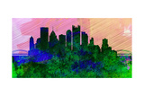 Pittsburgh City Skyline Prints by  NaxArt