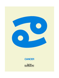 Cancer Zodiac Sign Blue Prints