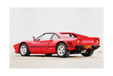 1980 Ferrari 288 GTO Watercolor Print